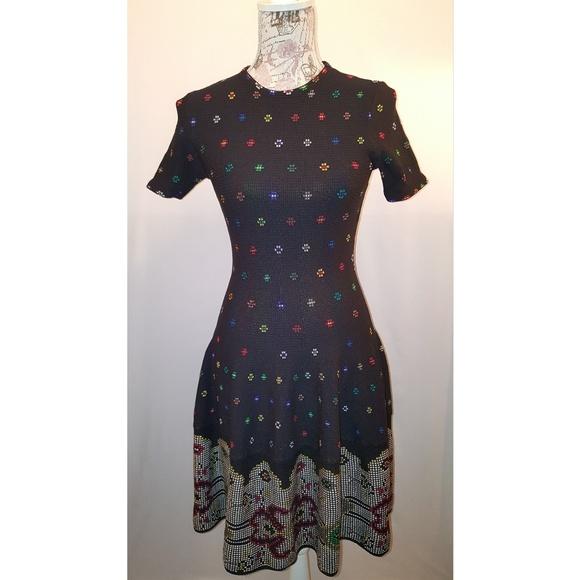 Alexander McQueen Dresses & Skirts - GORGEOUS Alexander MCQueen knitted mini dress